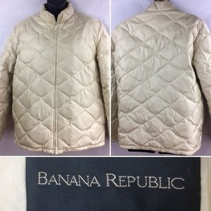 Banana Republic Medium Womens Down Filled Puffer